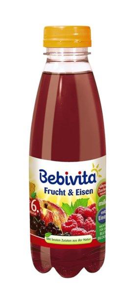Bebivita Бебешка Напитка от червени плодове с желязо 500мл.